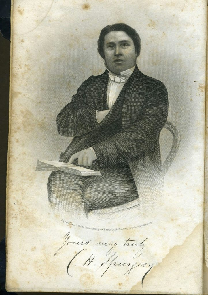 Young Charles Spurgeon
