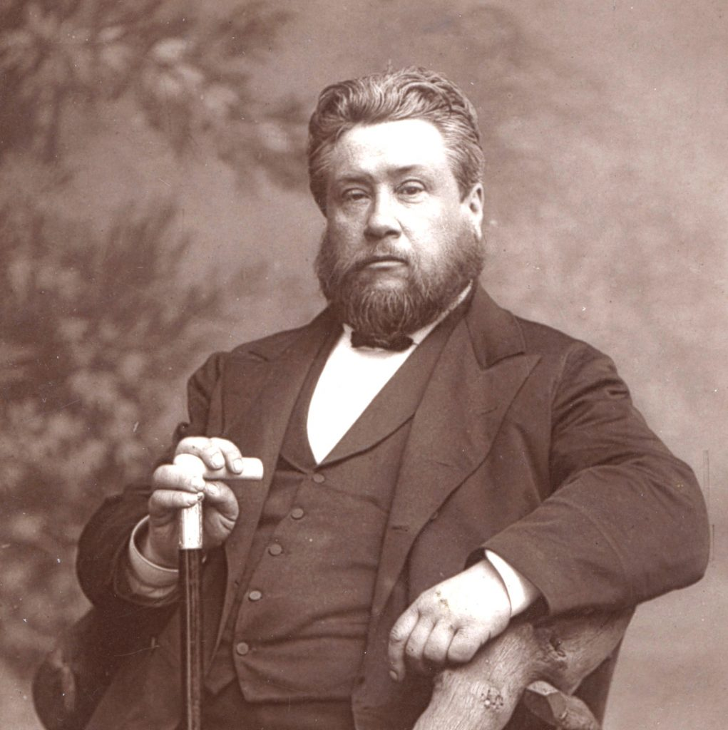 Charles Spurgeon resting